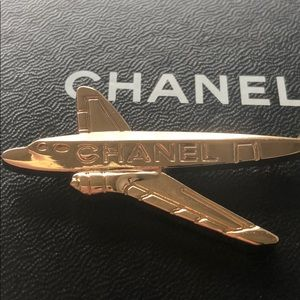 Rare! Authentic Chanel Airplane Button